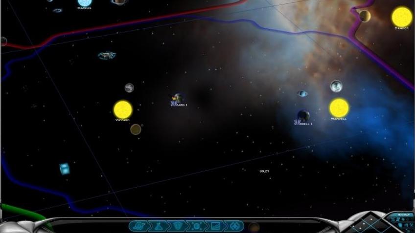 Первая бета-версия галактики