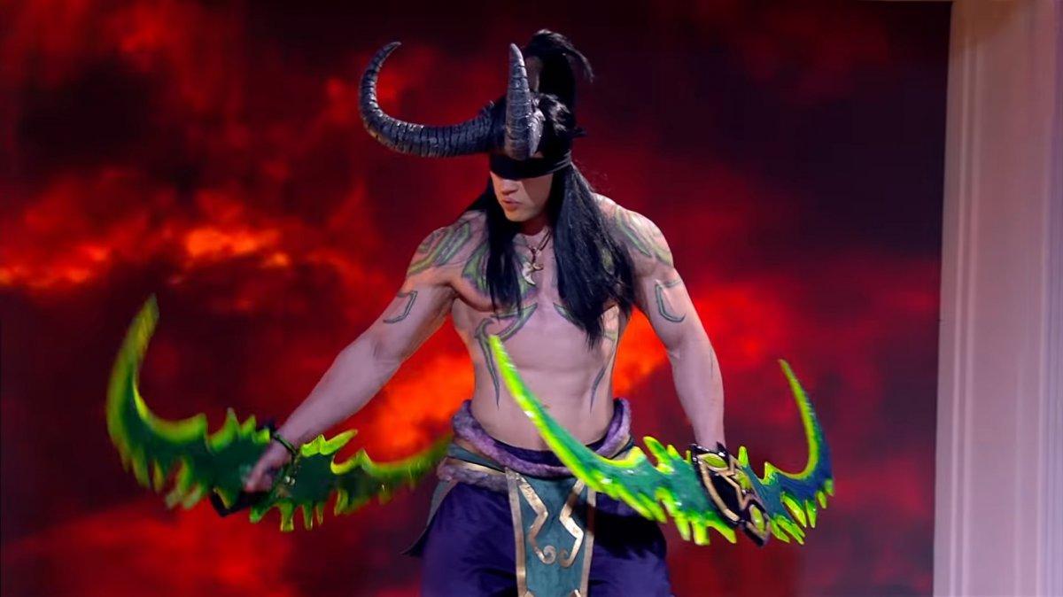 Жених в «Давай поженимся» станцевал стриптиз в образе Иллидана из Warcraft