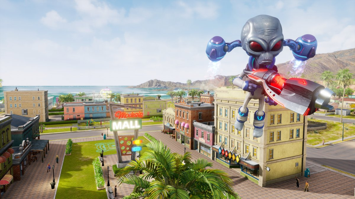 Санта Модеста в новом геймплейном трейлере ремейка Destroy All Humans!