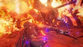 В геймплейном ролике Code Vein с gamescom 2019 показали огненные руины