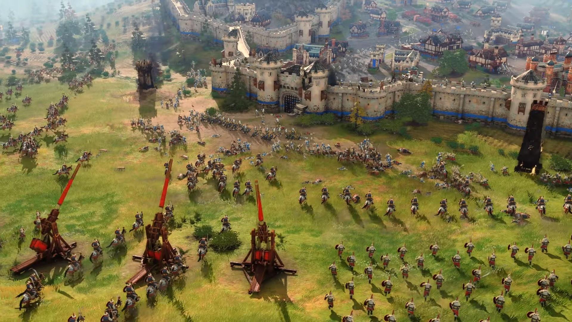 Microsoft наконец-то показала Age of Empires IV — вновь Средние века!