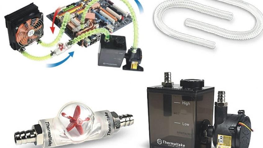 Новая система водяного охлаждения от TT