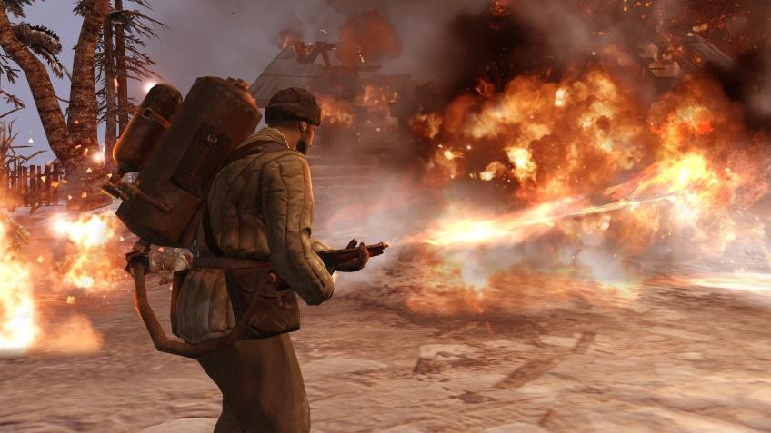 В Steam бесплатно раздают Company of Heroes2. Количество ключей ограничено
