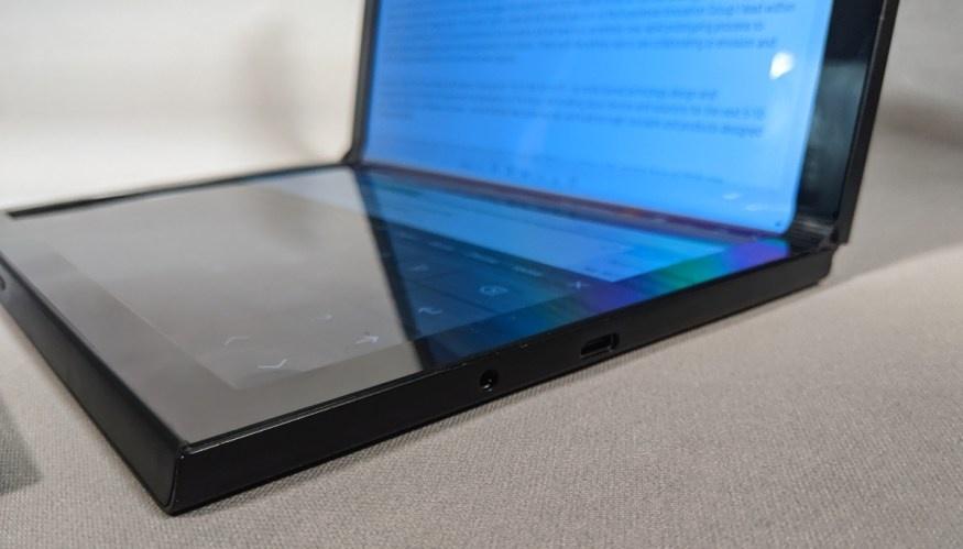 Dell показала прототипы двухэкранного ноутбука и лэптопа со складным экраном