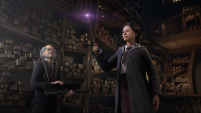 Похоже, что Hogwarts Legacy разрабатывают на Unreal Engine4