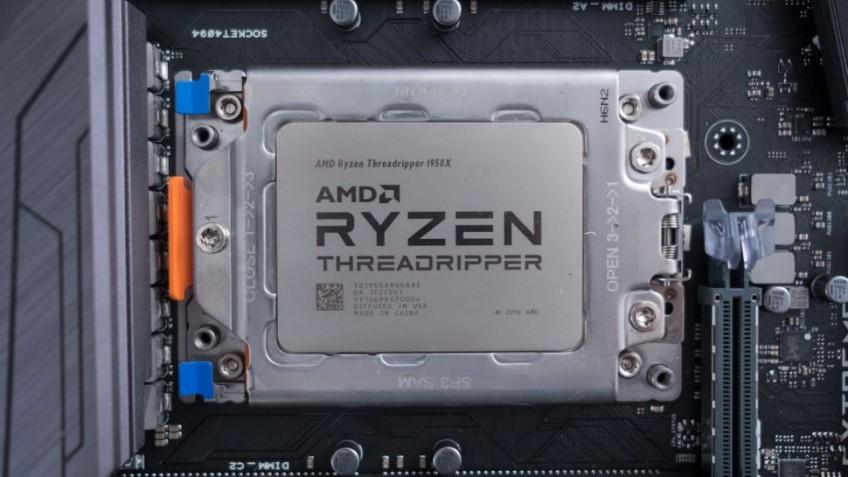 Утечка указывает на подготовку 64-ядерного процессора Ryzen Threadripper