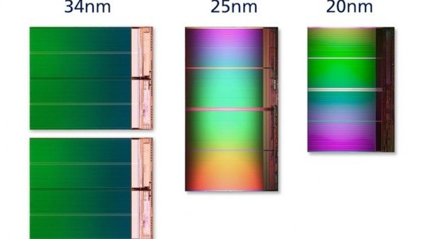 Intel и Micron представили 20-нанометровые чипы флэш-памяти