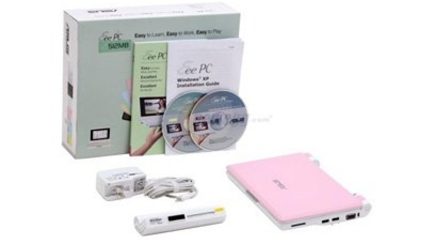 Цветные ASUS Eee PC в продаже