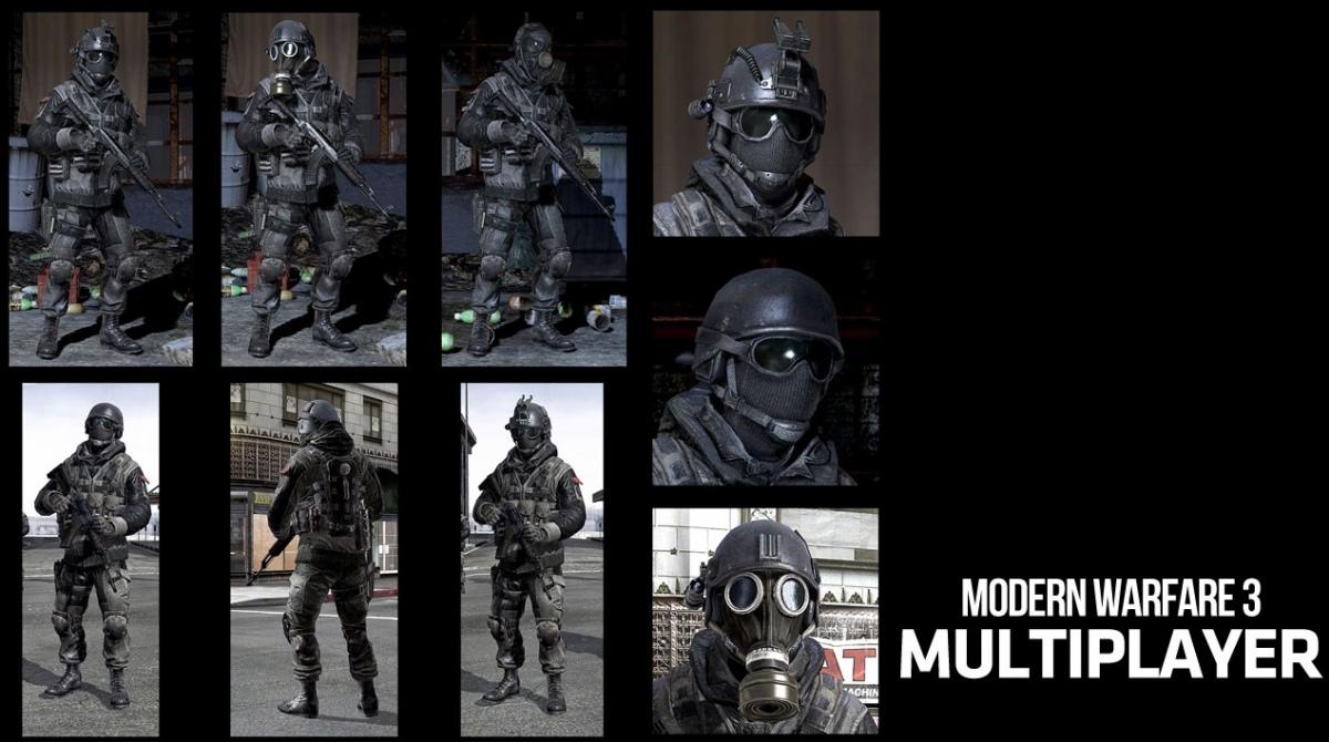 Мультиплеер Modern Warfare3 во всех подробностях