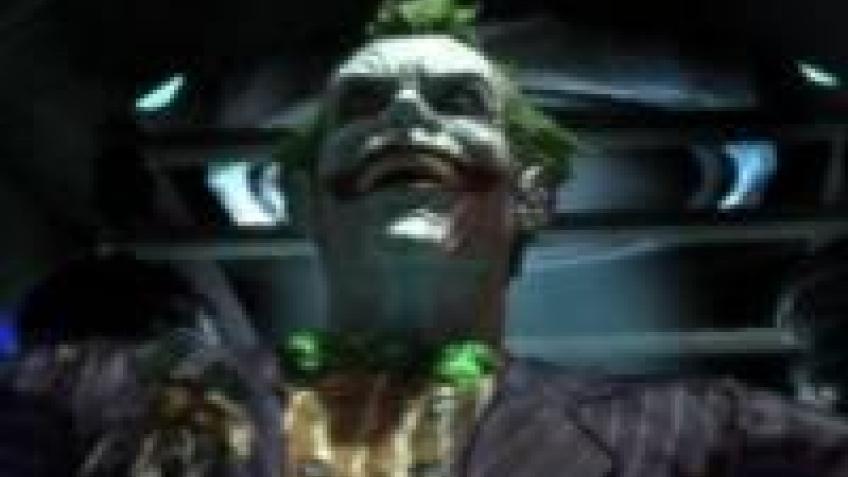 Джокер против Бэтмена в Arkham Asylum