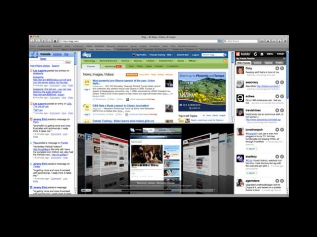 Cruz - новый браузер для компьютеров Apple