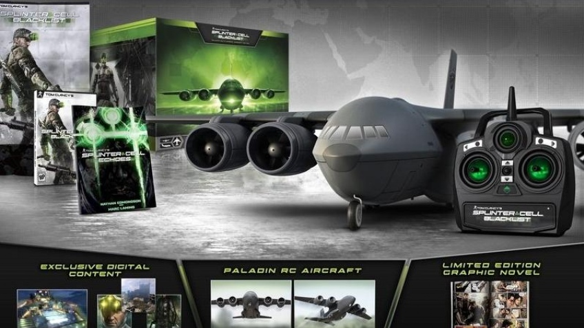 Покупателям Splinter Cell: Blacklist предложат игрушечный самолет