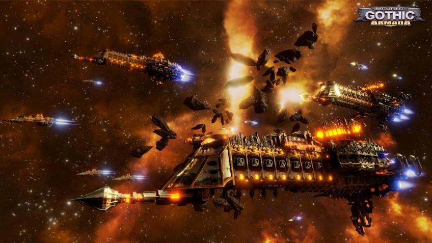 В Battlefleet Gothic: Armada добавят Эльдаров