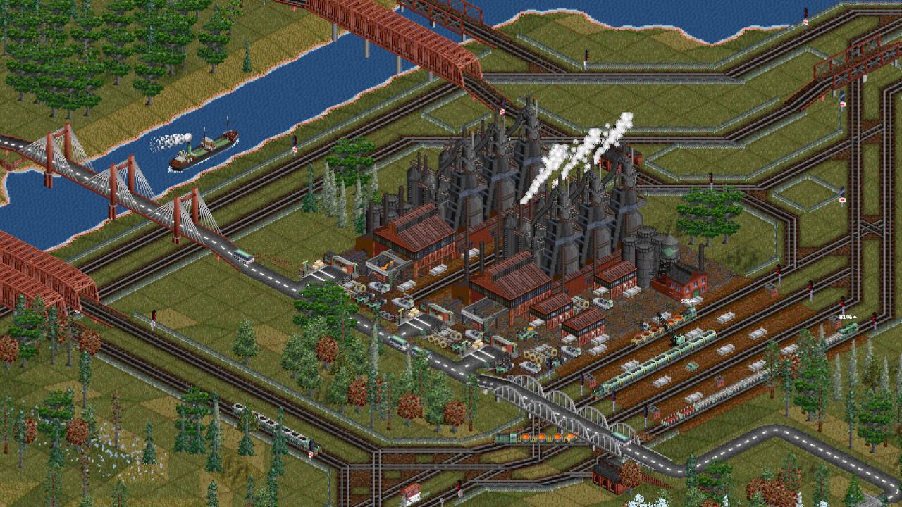 Бесплатный фанатский ремейк Transport Tycoon Deluxe выйдет1 апреля в Steam