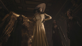 СМИ выяснили рост Леди Димитреску из Resident Evil Village — 244 сантиметра