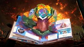 Blizzard выпустила книжку-раскладку по World of Warcraft