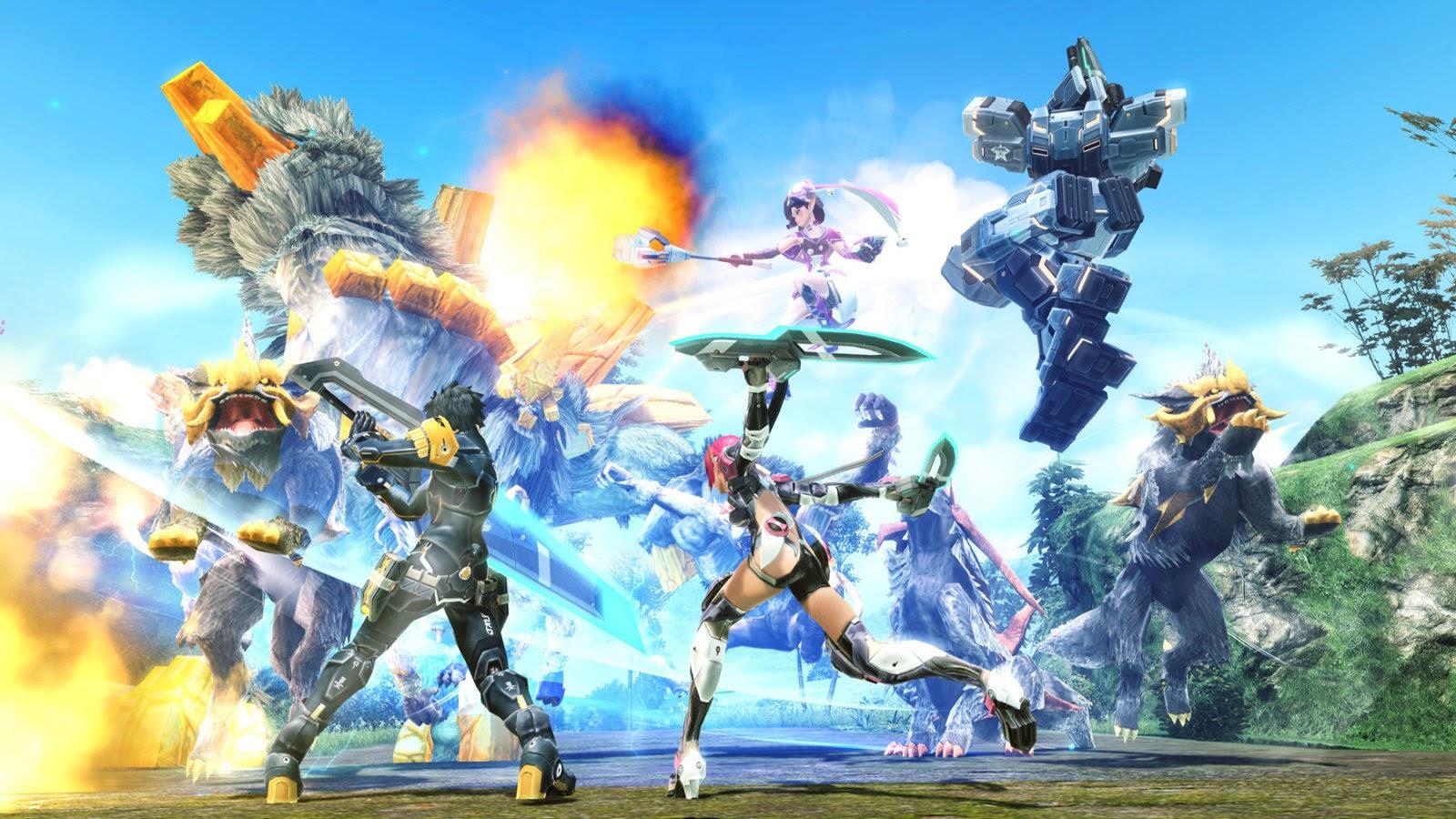 Phantasy Star Online2 преодолела отметку в миллион зарегистрированных игроков