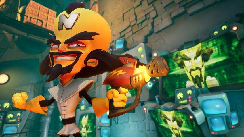 В Crash Bandicoot4 больше 100 уровней — это сопоставимо со всей трилогией