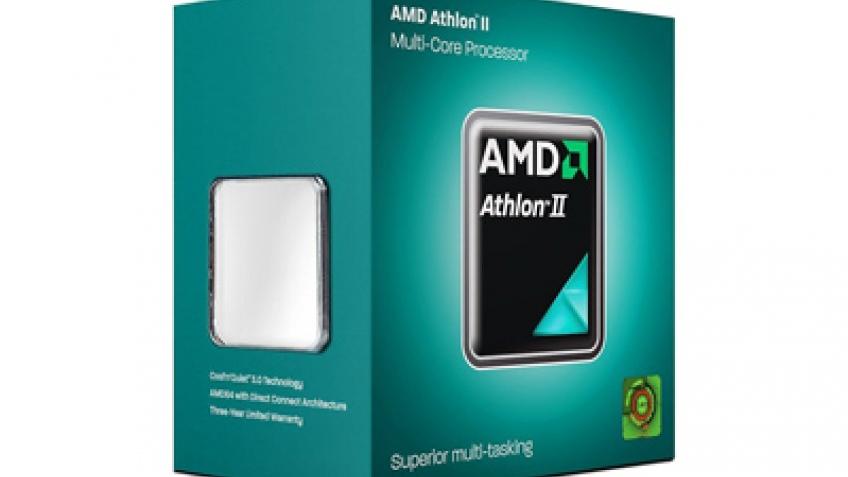 AMD анонсировала процессор Athlon II X2 280