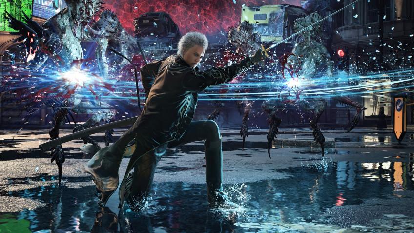 Capcom показала графические улучшения Devil May Cry5 для PS5 и Xbox Series X