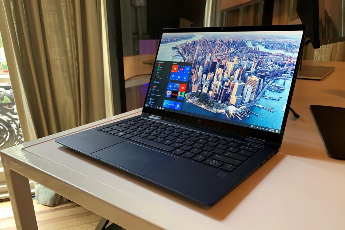 В России презентовали очень лёгкий премиальный ноутбук HP Elite Dragonfly