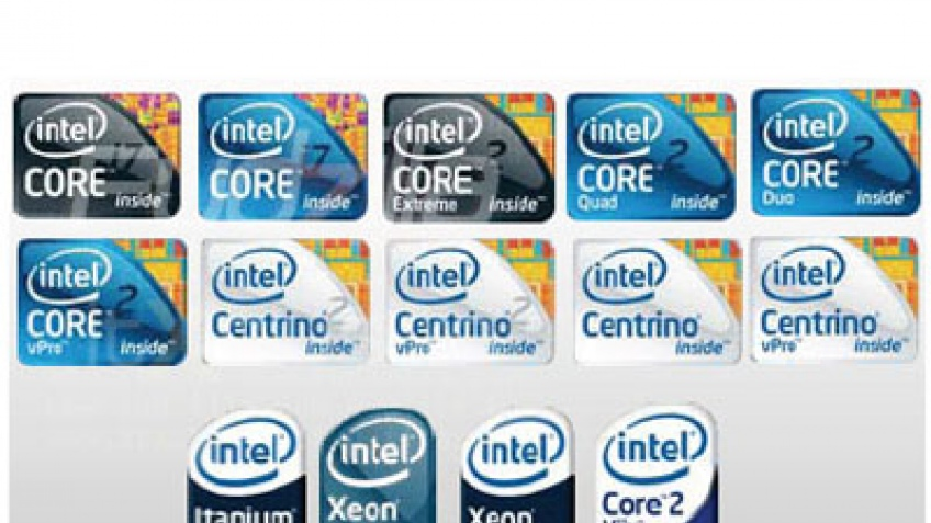 Intel изменила логотипы