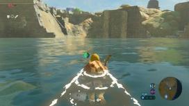 Баг открыл подводные красоты The Legend of Zelda: Breath of the Wild