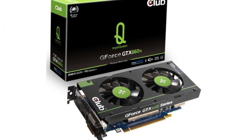 Club 3D выпустила GeForce GTX 670 royalQueen и GTX 660 Ti royalQueen