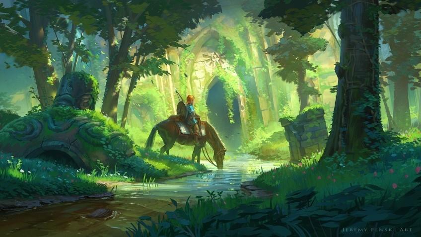 Игрок прошёл The Legend of Zelda: Breath of the Wild, используя только щиты