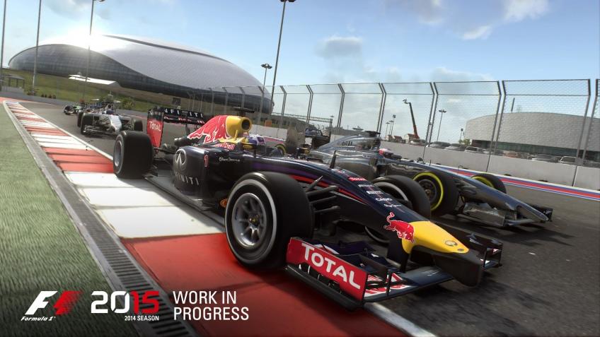 В новом видео F1 2016 показали гоночный трек в Баку