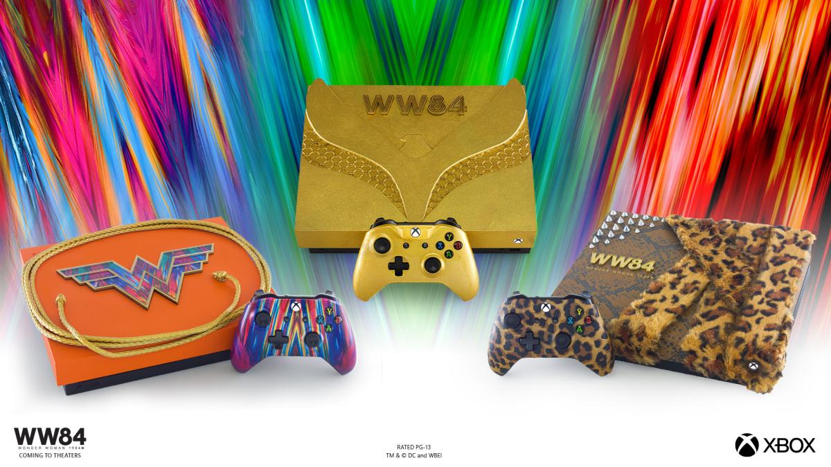 Microsoft выпустит Xbox One X по «Чудо-женщине» — один из них покрыт золотом