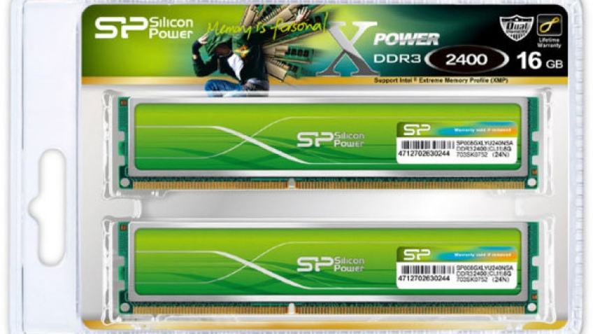 Silicon Power анонсировала новое поколение ОЗУ XPower DDR3