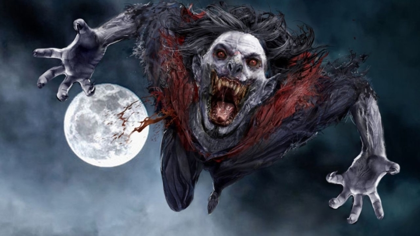 Первый кадр со съёмок фильма про вампира Морбиуса