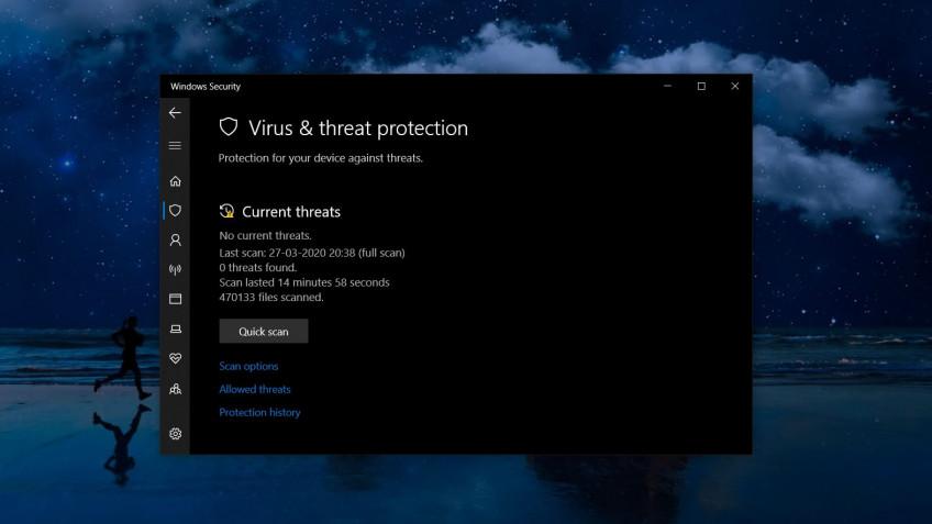 """Ещё одна проблема в Windows 10 — постоянные уведомления Защитника """">"""