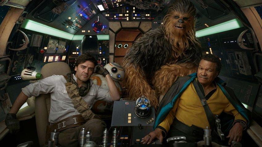 Новый рекламный ролик девятого эпизода «Звёздных войн»