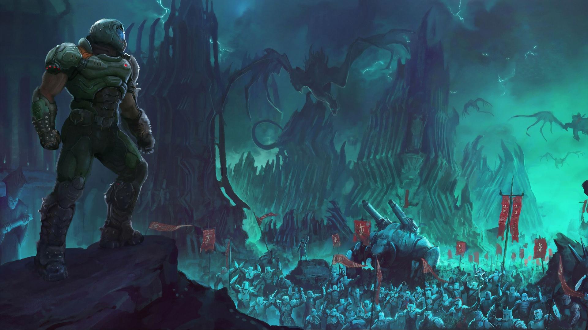 Первые сюжетные дополнения DOOM Eternal посвятят Думслееру