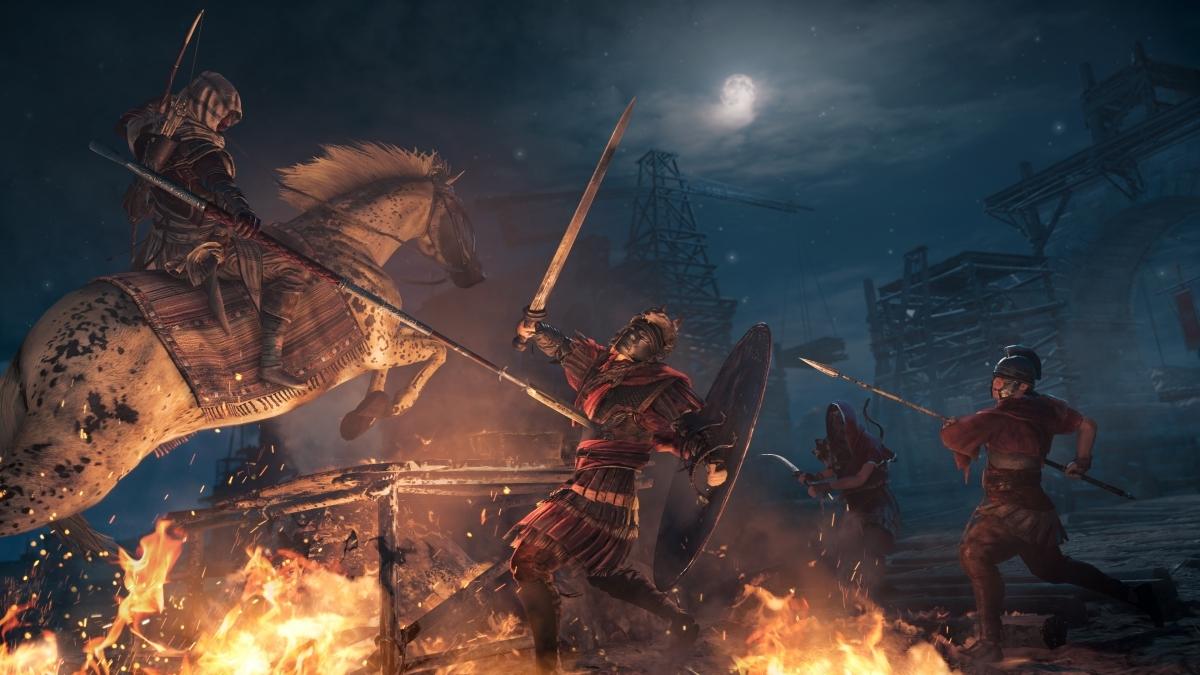 Что поправит «патч первого дня» в Assassin's Creed: Origins?