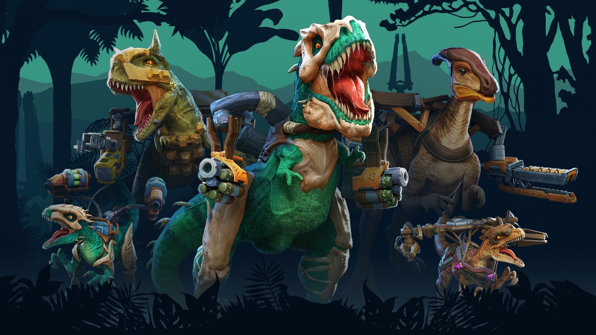 Создатели PvP-шутера Dino Squad вдохновлялись мультсериалом Dino-Riders