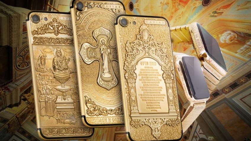 Российская компания Caviar предложила освященные iPhone7