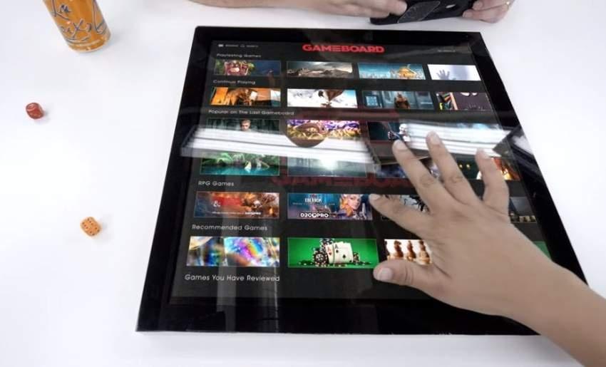 На Kickstarter собирают деньги на Gameboard-1 — 16-дюймовый планшет для настольных игр