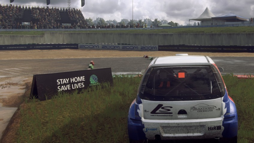 В британских играх появятся сообщения с просьбой оставаться дома