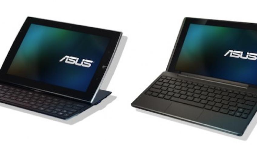 Планшетные компьютеры ASUS с клавиатурами
