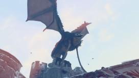 В ролике Prey for the Gods героиня охотится на огромное крылатое чудище