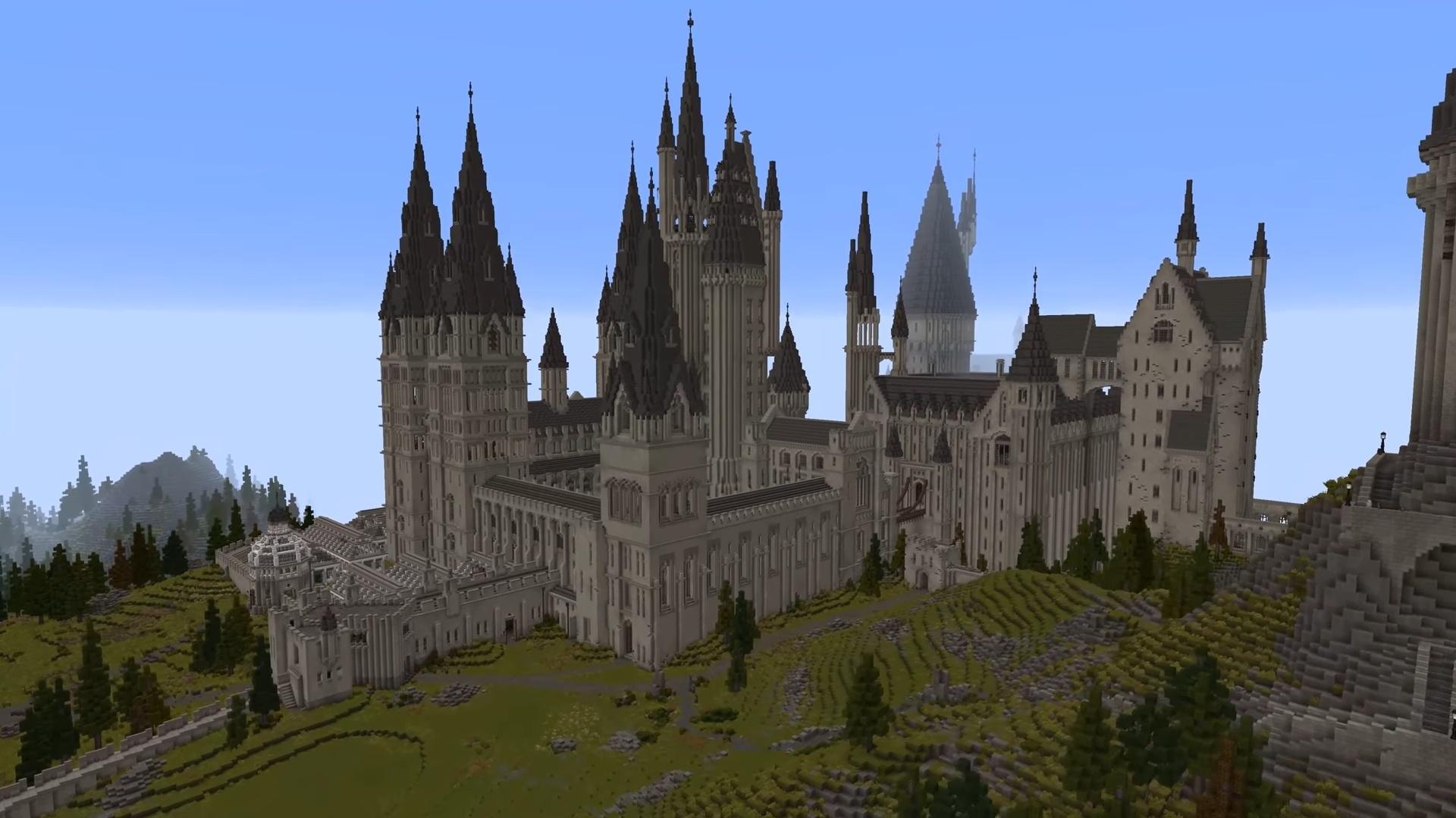 Полноценную RPG по «Гарри Поттеру» в Minecraft уже можно скачать