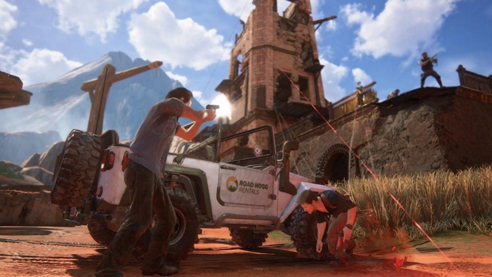 Авторы Uncharted 4: A Thief's End показали16 минут игрового процесса