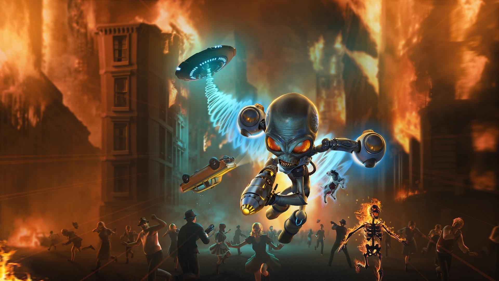 THQ Nordic анонсировала два коллекционных издания ремейка Destroy All Humans!
