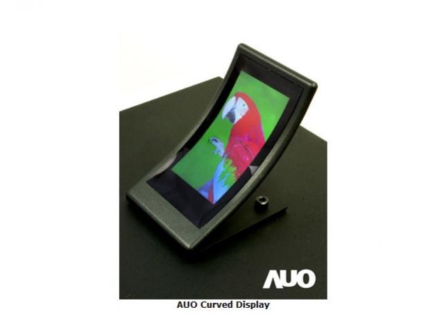 Кривой дисплей от AU Optronics