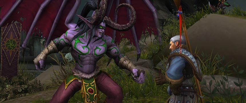 World of Warcraft получит обновление «Гробница Саргераса» в конце марта