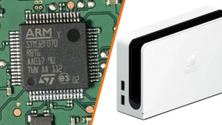 В док-станции Nintendo Switch с OLED-дисплеем обнаружен чип с поддержкой 4K UHD
