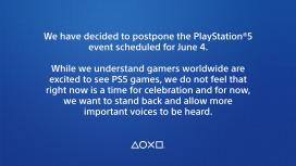 Пост о переносе презентации PlayStation5 стал самым популярным игровым твитом